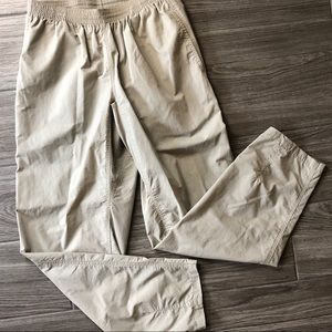 Patagonia Nylon Hiking Pants with elastic waist.